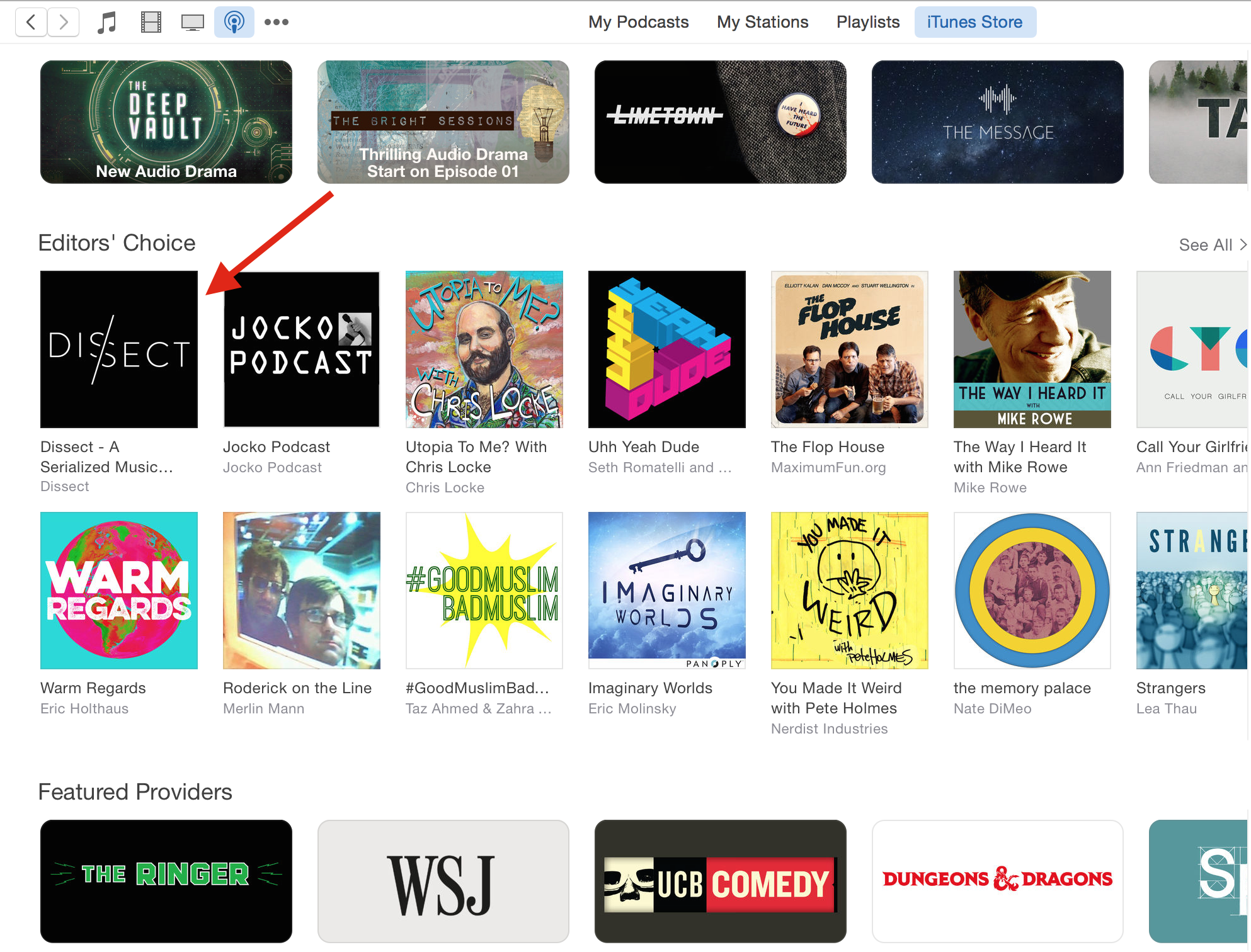 Dissect now Editor's Choice on iTunes